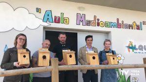 Instalación de cajas nido para la población de aves que combatan plagas de mosquitos