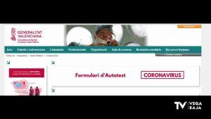 La Generalitat pone a disposición de los ciudadanos un autotest virtual para detectar el coronavirus