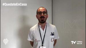 El departamento de salud Torrevieja se suma al reto «Quédate en casa»