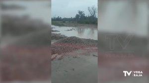 El Segura vuelve a amenazar con fugas tras las intensas lluvias