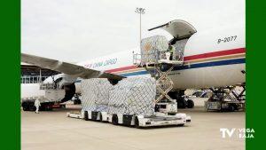 Material sanitario con destino a los hospitales y residencias de la Comunidad Valenciana