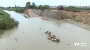 La Confederación aclara que no hay riesgo en el tramo del río con obras a su paso por Almoradí