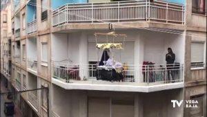 """Callosa celebra de forma atípica la """"Bajada de la Virgen de los Dolores"""""""