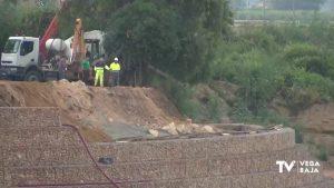 Avanzan las obras de emergencia tras la DANA en la rambla de Abanilla a su paso por Benferri