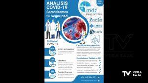Laboratorios de la Vega Baja ofrecen su tecnología para detectar el coronavirus