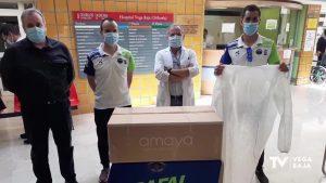 El Reto Solidario 24 horas hace posible la donación de 2.000 batas quirúrgicas al Hospital Vega Baja