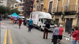 Orihuela inicia sus mercados cumpliendo con las medidas de seguridad y de higiene