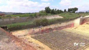Finalizan las obras de reconstrucción del muro de Almoradí a falta de trabajos auxiliares