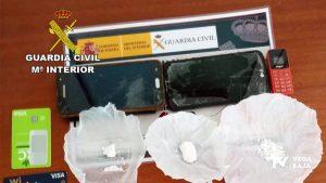 Detenido un vecino de Albatera por presunto delito contra la salud pública