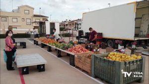 Se incorporan más puestos al mercadillo de Pilar de la Horadada