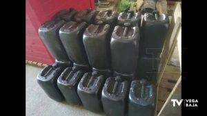 La Policía Local de Guardamar del Segura incauta un vehículo con 6.000 litros de gasolina