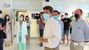 El presidente de la Diputación reclama al Consell la no reversión del Hospital de Torrevieja