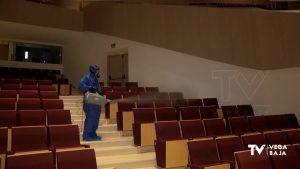 El Auditorio de Torrevieja aplica técnicas de nebulización originando un espacio seguro