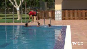 Granja de Rocamora reabre las piscinas municipales gravemente dañadas durante el episodio de la DANA