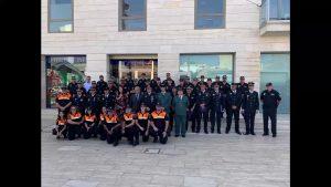 La policía local de Pilar de la Horadada celebra la festividad de su patrón