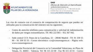 Pilar de la Horadada ha habilitado la oficina de atención a los damnificados