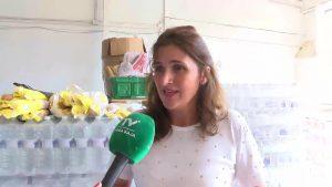 Orihuela recibe la solidaridad de vecinos, voluntarios y empresas con alimentos y ropa
