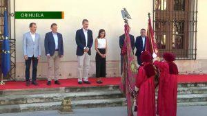 Don Felipe y Doña Letizia presiden el acto de traspaso de honores de la Gloriosa Enseña del Oriol