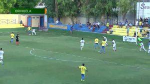 Un gol anulado al final del partido deja al Orihuela CF sin la victoria