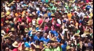 Catral congrega a más de 3000 personas en el Chupinazo de este año
