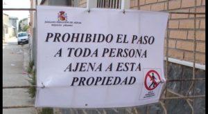 El Juzgado de Aguas y el Ayuntamiento de Rojales acuerdan el cierre temporal de un tramo peatonal