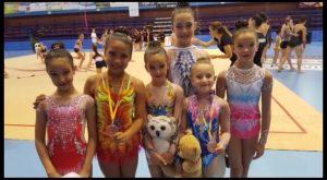 Buenos resultados para el club de gimnasia rítmica Torrevieja
