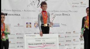 El almoradidense Rubén Gil, campeón de España en gimnasia rítmica