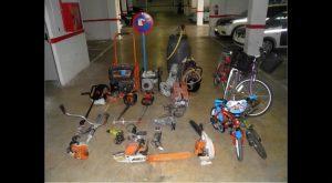 Desmantelado en Almoradí un negocio de compra-venta de objetos robados