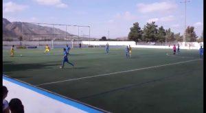 Partido igualado el que enfrentó el domingo al Benferri Club de Fútbol y al Club Deportivo Thader