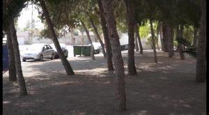 San Isidro habilita una nueva zona de juegos para los más pequeños en el centro del municipio