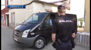 Prisión sin fianza para el detenido el lunes en Orihuela por la muerte violenta de su pareja