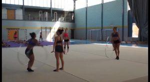 El Club de Gimnasia Rítmica de Almoradí entrena para recaudar fondos de cara a grandes competiciones