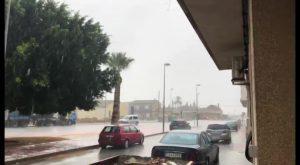 Torrevieja, Catral y Rojales: las poblaciones más lluviosas del fin de semana