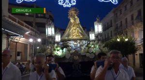 La Virgen de Monserrate vuelve a su santuario tras un doble recorrido por Orihuela
