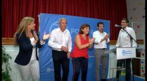 Bonig y Císcar respaldan al candidato del Partido Popular a la Alcaldía de Pilar de la Horadada