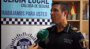 La Policía Local de Callosa pone en valor el trabajo que realiza la Unidad de Mediación