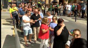 Continúan las protestas de funcionarios en Torrevieja