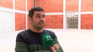 El gimnasio del colegio Jesús Sánchez de San Isidro es la primera obra acabada del Plan Edificant