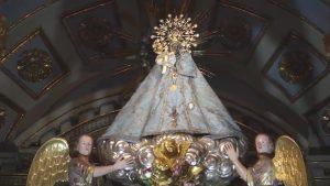Un gran volteo de campanas conmemora el centenario del Patronazgo de la Virgen de Monserrate