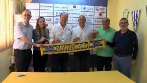 El Orihuela Club de Fútbol recibe el apoyo del Equipo de Gobierno de cara a la nueva temporada