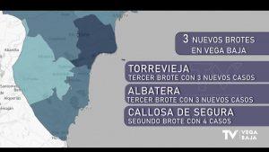 Tres nuevos brotes en la comarca: Torrevieja, Albatera y Callosa de Segura que suman 10 contagios