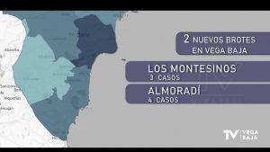 Nuevos brotes de COVID19 en Los Montesinos y Almoradí