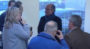 El ex presidente valenciano F. Camps visita la Vega Baja y se reúne con conocidos cargos del PP