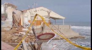 La AVV Playa de Babilonia estudia emprender acciones penales contra dirección de Costas de Alicante