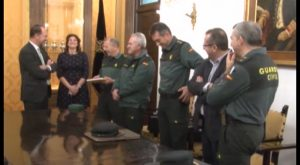 La cúpula de la Guardia Civil se reúne en Orihuela para valorar la situación de la Vega Baja