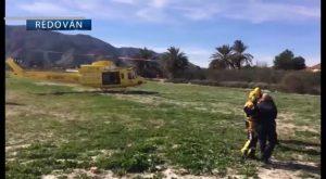 Rescatada una mujer de 27 años tras quedar atrapada en la sierra del Águila, entre Callosa y Redován