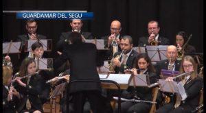 La Agrupación Musical de Guardamar protagoniza un magnífico concierto