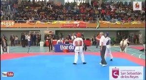 El catralense Daniel Ríos, campeón de España de Taekwondo en -87 kilos