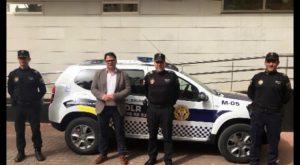 Dolores estrena nuevo vehículo para la Policía Local