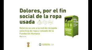 Dolores instala 7 contenedores para recogida selectiva de ropa usada con fin social